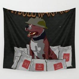 Pitbull Warfare Wall Tapestry