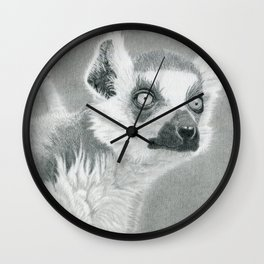 Looky-Loo Lemur Wall Clock