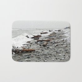 Driftwood Beach after the Storm Bath Mat