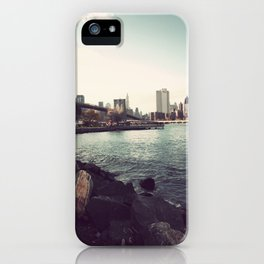 The Calm of the City iPhone Case