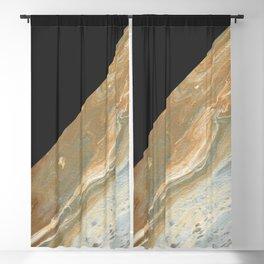 Athena Color Block Blackout Curtain