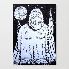 Bigfeet Canvas Print