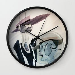 A couple of crazy wackos. Wall Clock