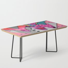 drippy pink Coffee Table