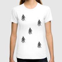 nordic T-shirts featuring nordic fir trees by tonadisseny