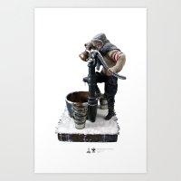 One Sixth Custom Figure 15 Art Print