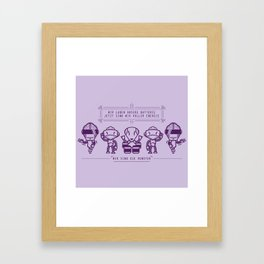 We are the Robots 2 Framed Art Print