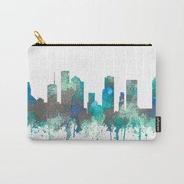 Houston, Texas Skyline - SG Jungle Carry-All Pouch