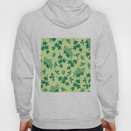 Seamless background from bunches of grapes Hoody