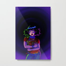 Issue 02 Cover Metal Print