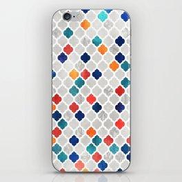 Sea & Spice Moroccan Pattern iPhone Skin