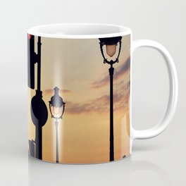 Stop and look at the sunset Coffee Mug