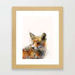 The cunning Fox Framed Art Print