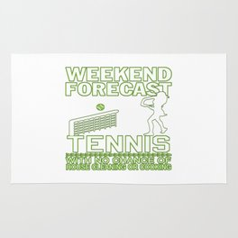 WEEKEND FORECAST TENNIS Rug