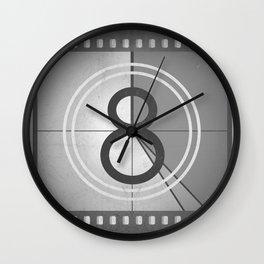 Countdown Film Wall Clock
