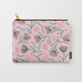 Pohutukawa flower blossom tropical summer Carry-All Pouch