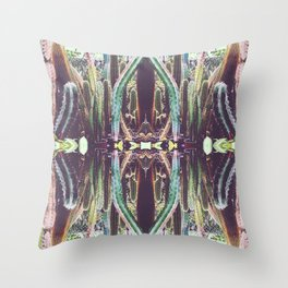RefraCacti Throw Pillow