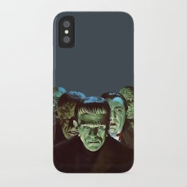 Famous Monsters Gang iPhone Case
