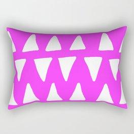 Fuchsia Frolic Rectangular Pillow