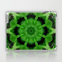 Fern and friends kaleidoscope, mandala - Maidenhair, Adiantum 900 kal 16 Laptop & iPad Skin