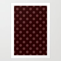 polka Art Prints featuring Polka by Taylor Steiner