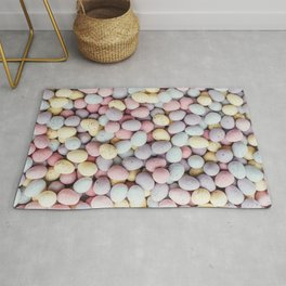 eggs color Rug