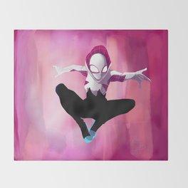 Spider Gwen Throw Blanket