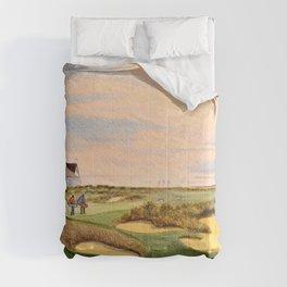 Kiawah Island Ocean Golf Course Comforters