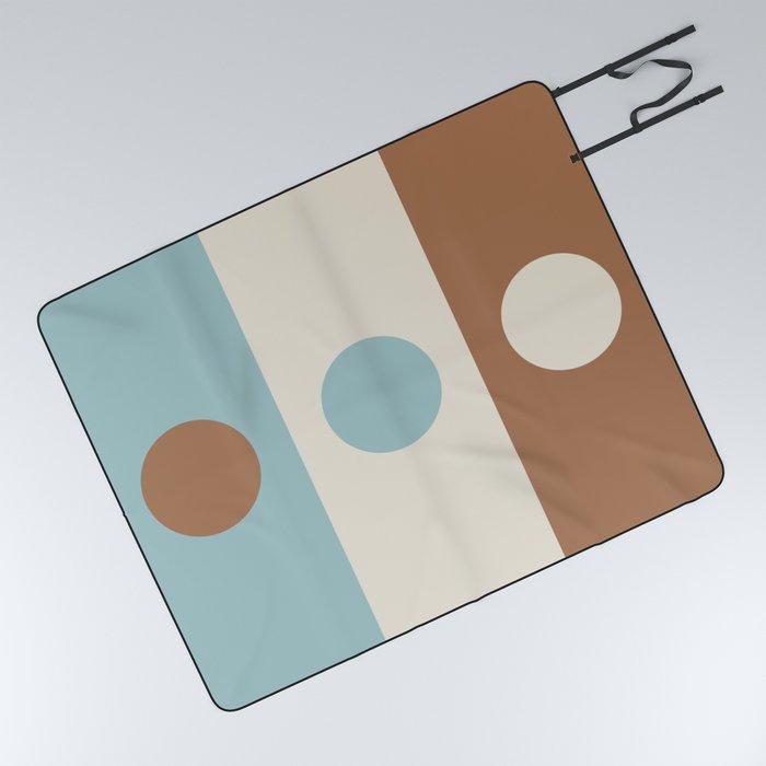 Abstraction_DOT_COLOR_VISUAL_ART_Minimalism_001A Picnic Blanket