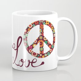 Peace - Spread The Love Coffee Mug