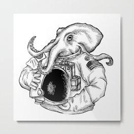 Octonaut Metal Print