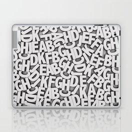 Learn the alfabet Laptop & iPad Skin