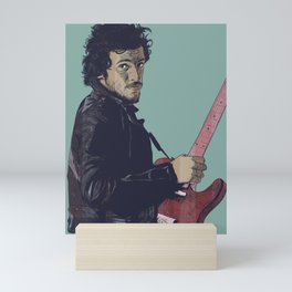 The Boss Bruce Mini Art Print