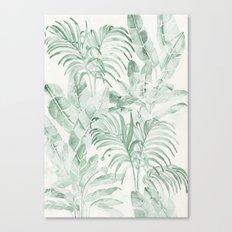 Tropical palms Canvas Print