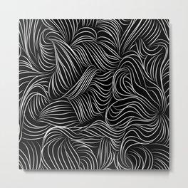 crazy lines Metal Print