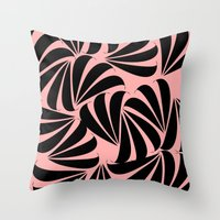japanese Throw Pillows featuring Japanese by Kayla Cole