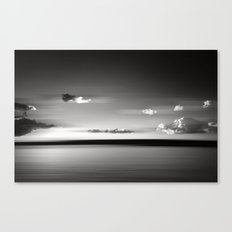 Floating BW Canvas Print