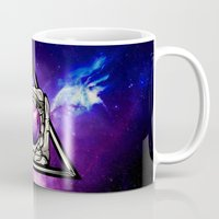 astronaut Mugs featuring Astronaut by Pancho the Macho