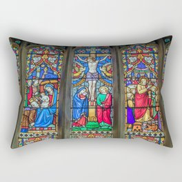 The Light Of Faith Rectangular Pillow