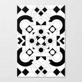 Radial Pattern I Canvas Print
