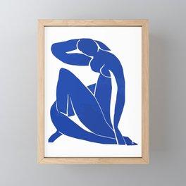 Henri Matisse - Blue Nude 1952 - Original Artwork Reproduction Framed Mini Art Print