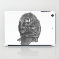 beaver iPad Cases featuring Beaver by Nasir Nadzir