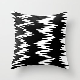 Rippin' It Up Throw Pillow