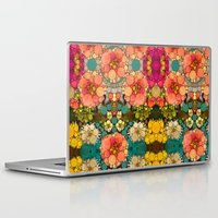discount Laptop & iPad Skins featuring Perky Flowers! by Love2Snap