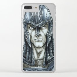 Vi-King Clear iPhone Case