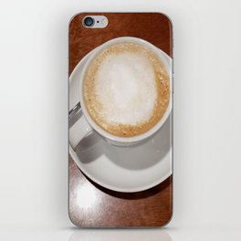 Rise and Shine Cafe con Leche Coffee! iPhone Skin