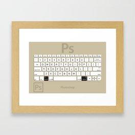 Photoshop Keyboard Shortcuts Opt Framed Art Print