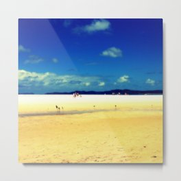 Whitehaven Beach Metal Print