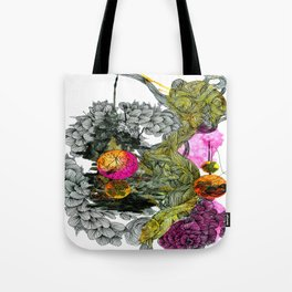 fluctus Tote Bag