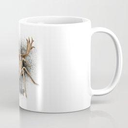 Spider + Deer = Spideer Tarantula Antlers Wilderness Hunting Coffee Mug